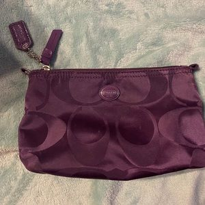 Coach cosmetic/makeup bag!